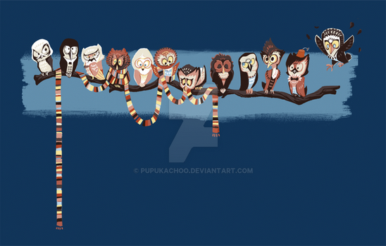 Doctor Hoo UPDATED! T-shirts avail!