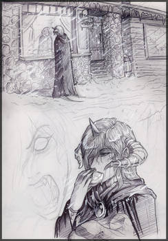 AU Sketches - Hamel - Winter 1