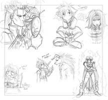 Sketch page o' death by pupukachoo