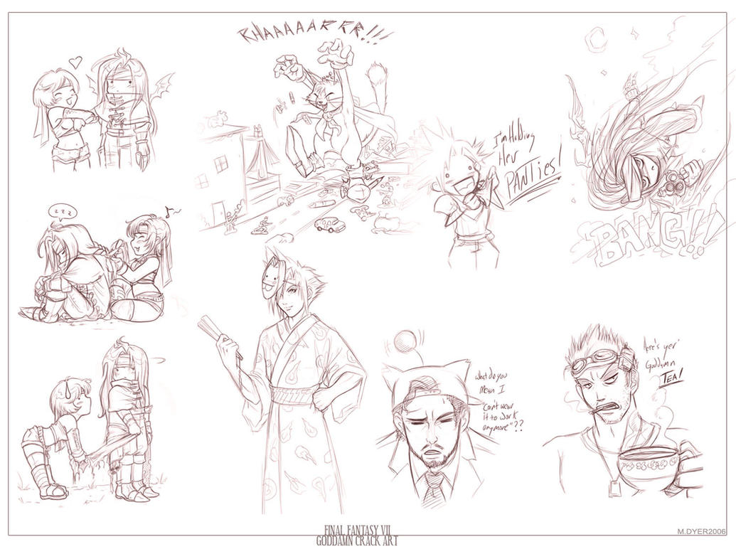 Sketch Dump Galore :B by pupukachoo on DeviantArt