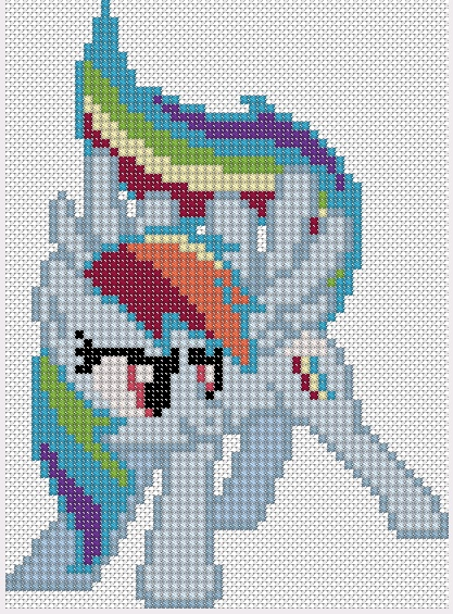 Rainbow Dash by Stinnen