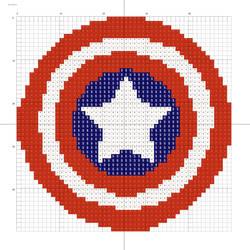 Captain America logo by Stinnen