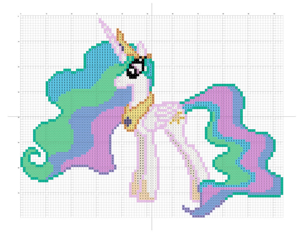 Princess Celestia by Stinnen