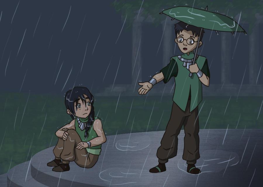 Rain - Beifong Week by LimeGreenBunny