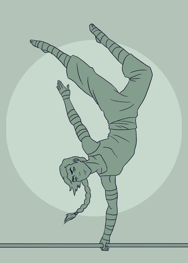 Dancing - Kuvira Week by LimeGreenBunny