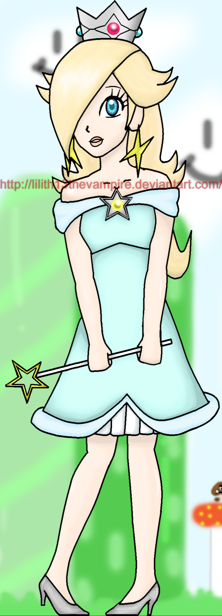 Princess Rosalina Summer Dress by Lilith13thevampire