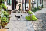 Chibitalia and the Cat