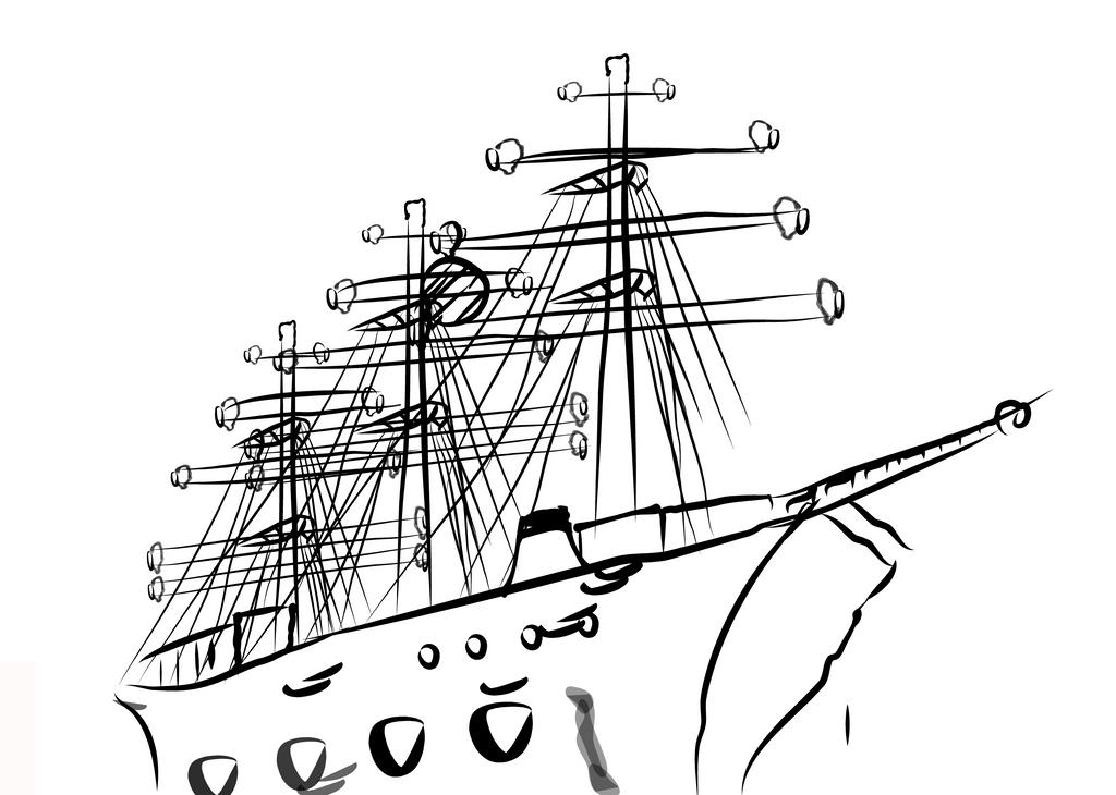 Blackship2e 1 by BackOfTheFolio