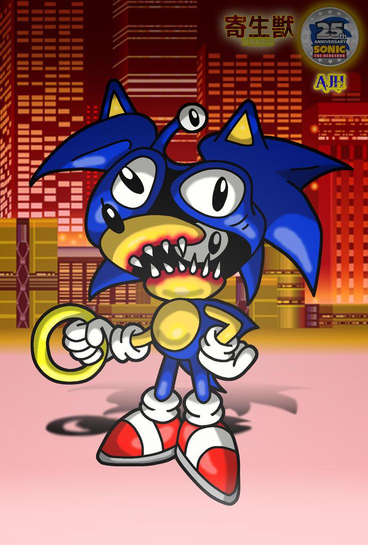 Sonic the Parasyte by ajhockham