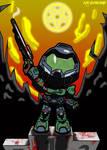 Doom Guy #1 by ajhockham