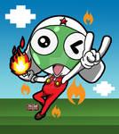 Fire-Powered-Froggy! by ajhockham