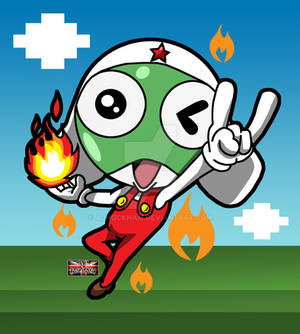Fire-Powered-Froggy!