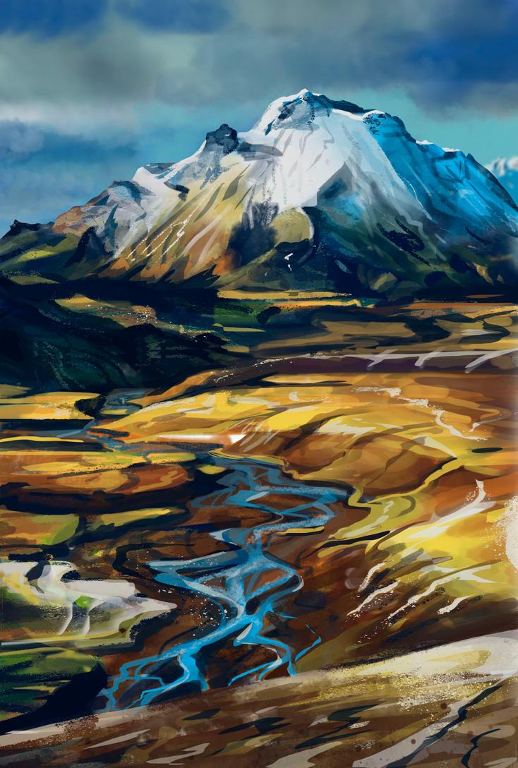 mountain by eksfo