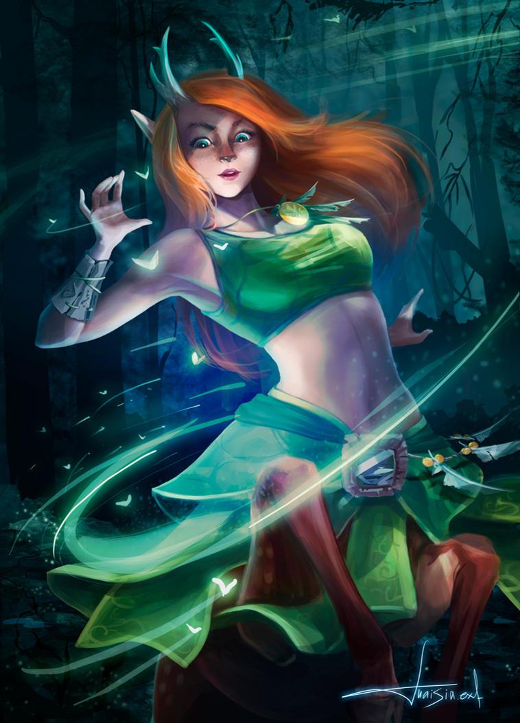 Enchantress, dota2 by eksfo