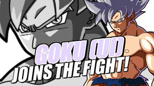Goku UI Joins The Fight (Fanmade)