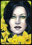 ACEO -- Daffodil