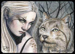 ACEO -- Feral