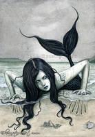 From the Dark Depths by ElvenstarArt