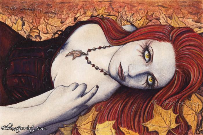 Autumn by ElvenstarArt