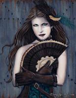 Steampunk Assassin by ElvenstarArt