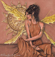 Golden Dreams by ElvenstarArt