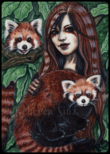 ACEO -- Affection by ElvenstarArt