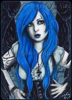 ACEO -- Cobalt by ElvenstarArt