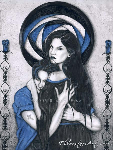 Dark Devotion by ElvenstarArt