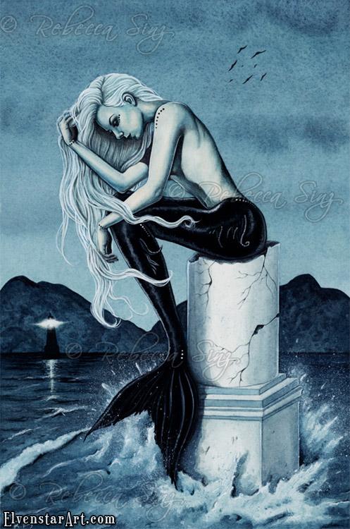 Stormy Seas by ElvenstarArt