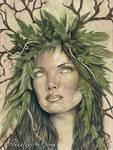 Goddess of the Earth by ElvenstarArt