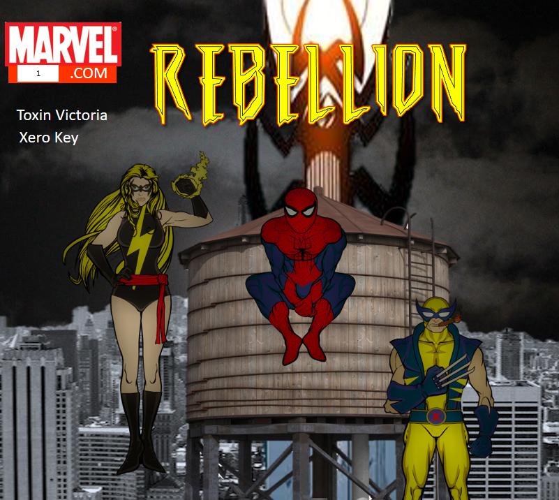 The Rebellion Marvel Dark Reign Au Fanfiction Project