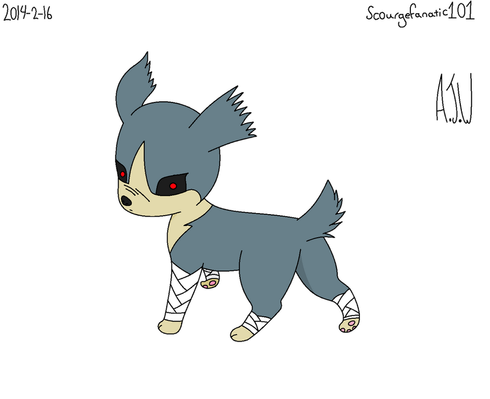 Eevee evolution fighting type *coloured version* by ...
