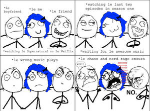 Supernatural Rage Comic 1