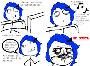 Supernatural Rage Comic 2