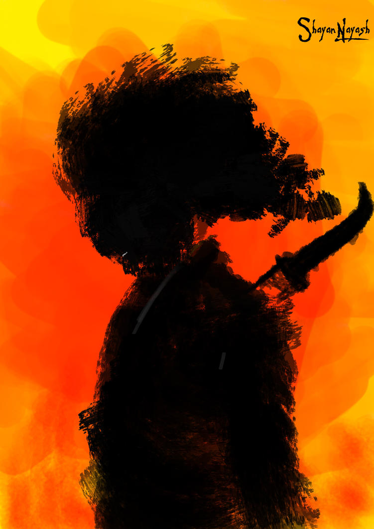 Silence Of Samurai by Shayan-Nayash