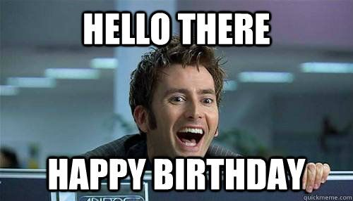 send this to whovians on their birthday by stellaarmstrong