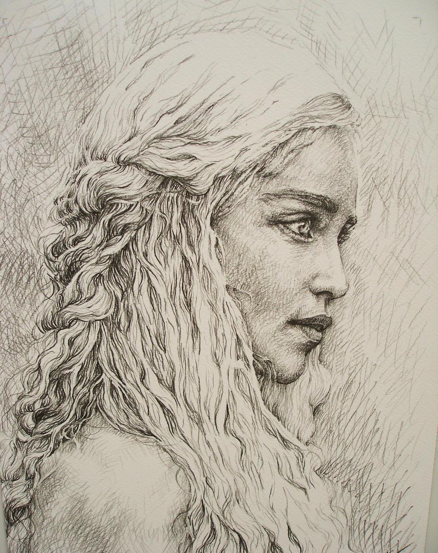 Daenerys Targaryen by AlexndraMirica