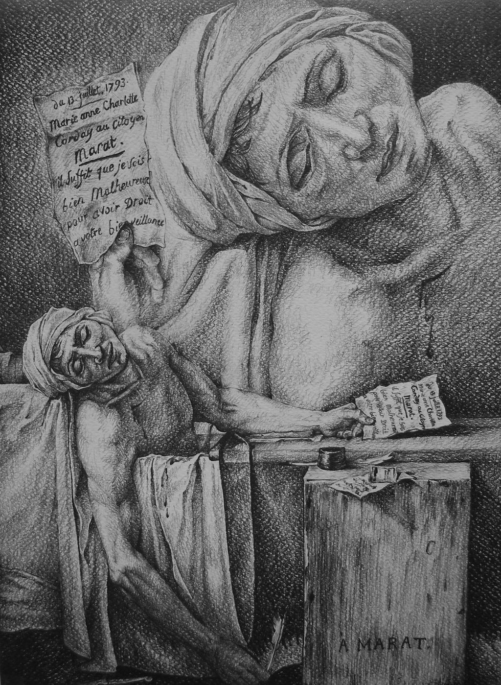 An analysis of the death of marat