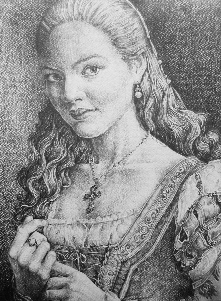 Lucrezia Borgia by AlexndraMirica