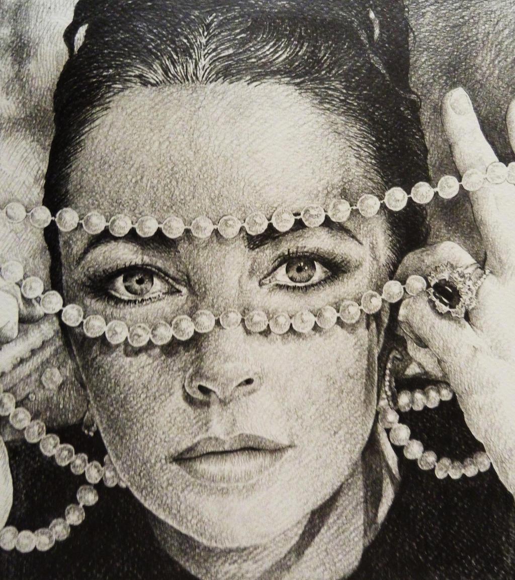 Elizabeth Taylor by AlexndraMirica
