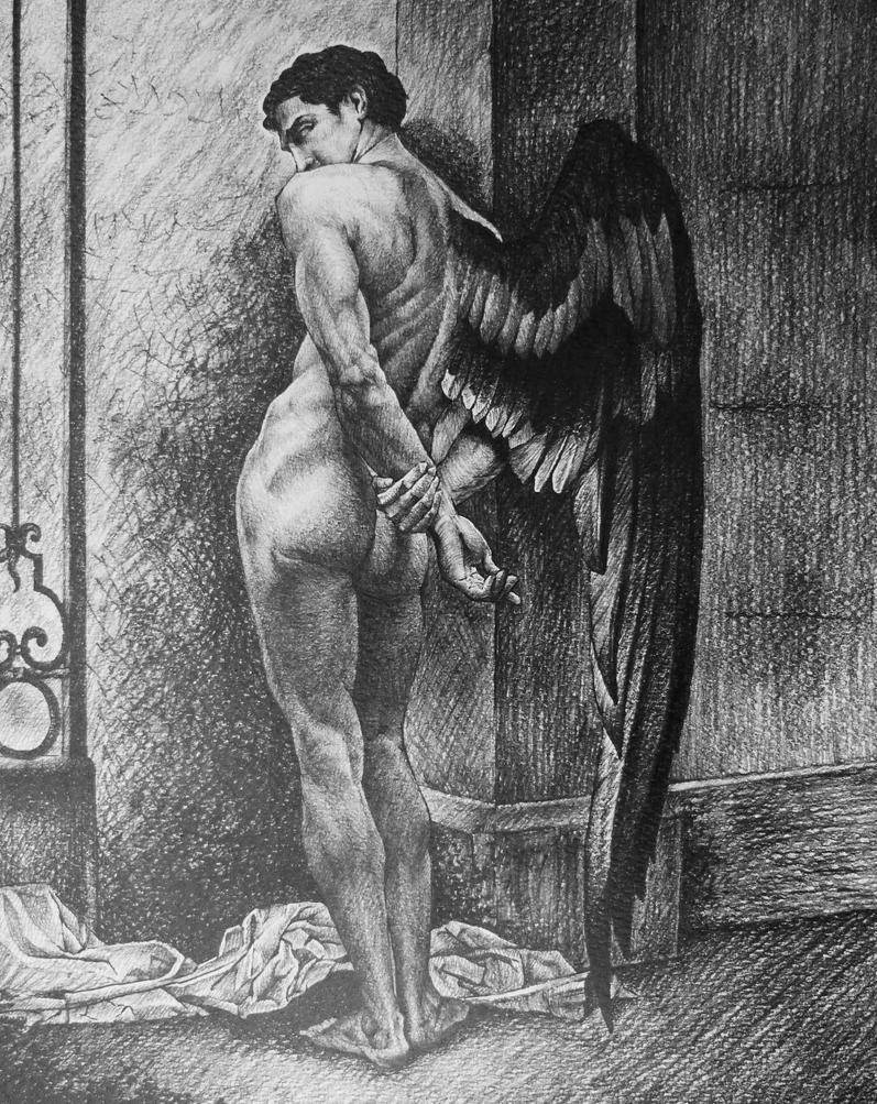 Study after Roberto Ferri, Angelo della Morte by AlexndraMirica