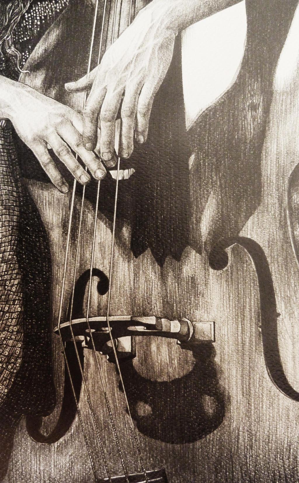 Cello sketch by AlexndraMirica