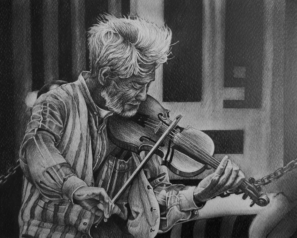 Violinist by AlexndraMirica