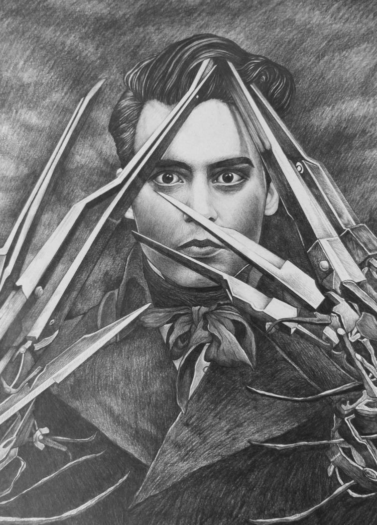 Edward Scissorhands - Jhonny Depp by AlexndraMirica