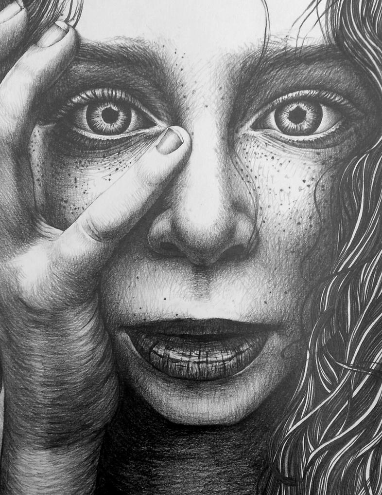 portrait after Lee Jeffries by AlexndraMirica