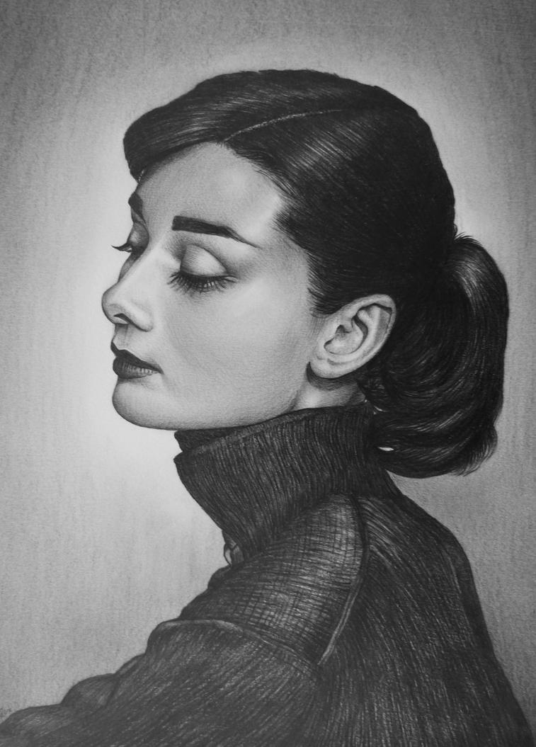 Audrey Hepburn by AlexndraMirica