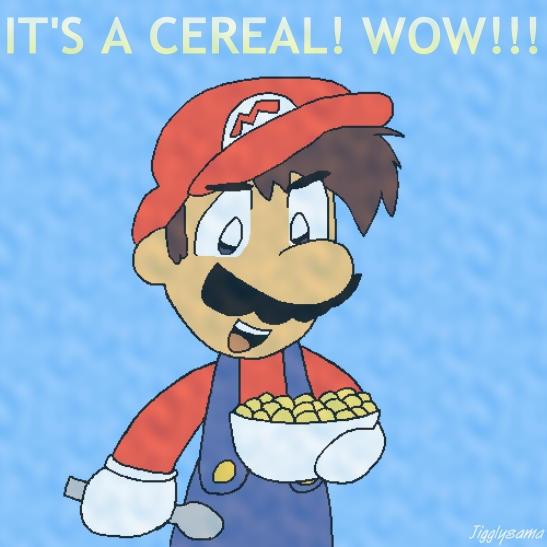 Mario Cereal By Jigglysama On DeviantArt