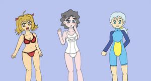Swimwear Art Jam by jigglysama