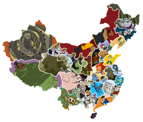 China of Jackie Chan Adventures by Otaku-kun9