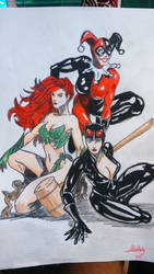 Gotham sirens by Remarkvc